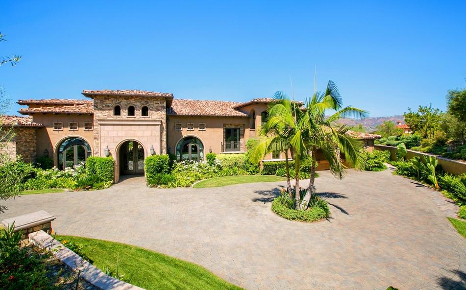 4 7 Million Mediterranean Mansion In San Diego Ca