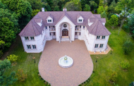 $2.695 Million French Inspired Brick Mansion In Franklin Lakes, NJ
