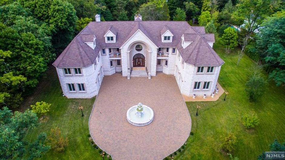 $2.695 Million French Inspired Brick Mansion In Franklin Lakes, NJ