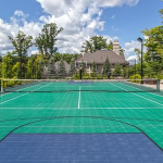 Basketball/Tennis Court