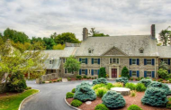 $3.5 Million 11,000 Square Foot Colonial Stone Mansion In Villanova, PA