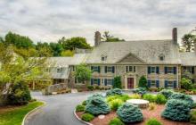 $3.5 Million 11,000 Square Foot Colonial Stone Mansion In Villanova, PA