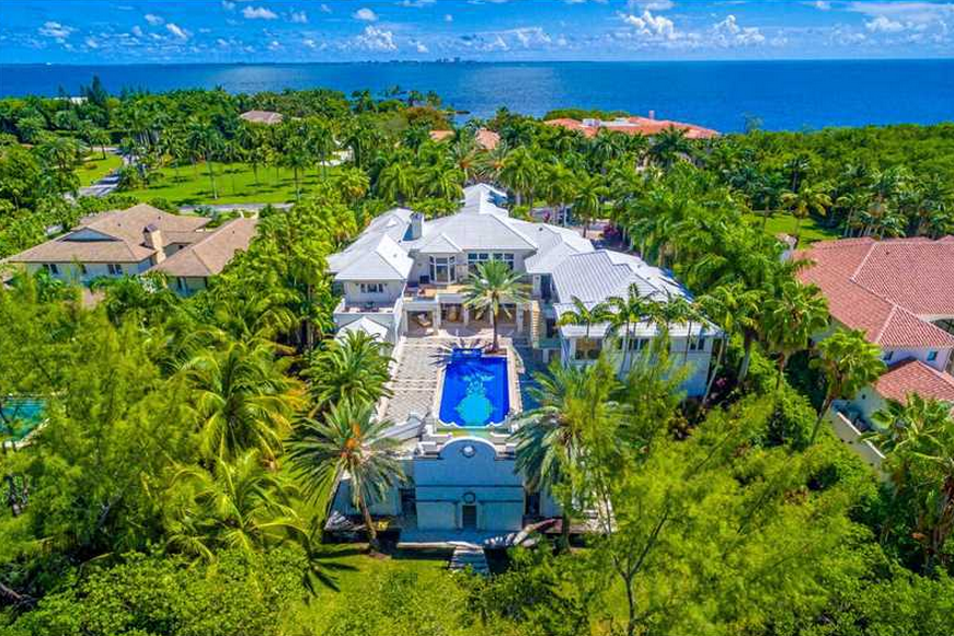 $12 Million 16,000 Square Foot Mansion In Coral Gables, FL