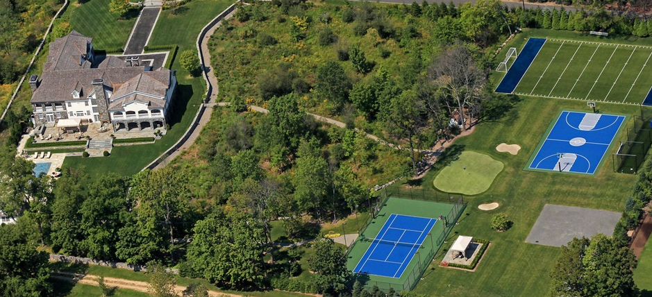 $19.8 Million Estate In Purchase, NY With Awesome Sports Complex
