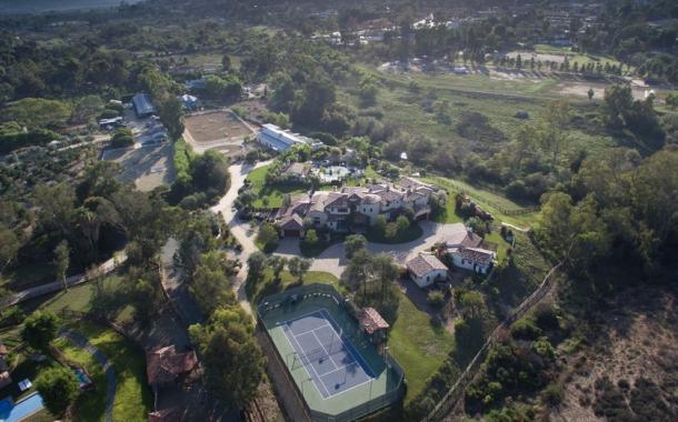 $8.875 Million Tuscan Inspired Equestrian Estate In Rancho Santa Fe, CA