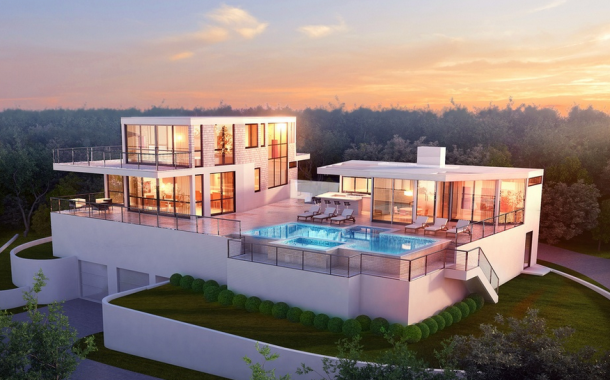 $6.6 Million Modern Home Under Construction In Southampton, NY