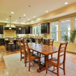 Breakfast Room & Gourmet Kitchen