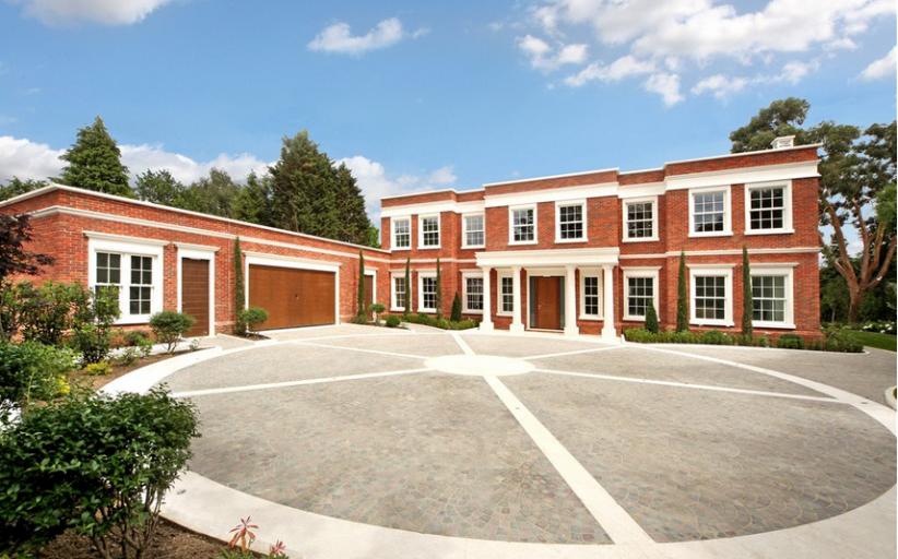Manna – A  £6.3 Million Newly Built Brick Mansion In Surrey, England