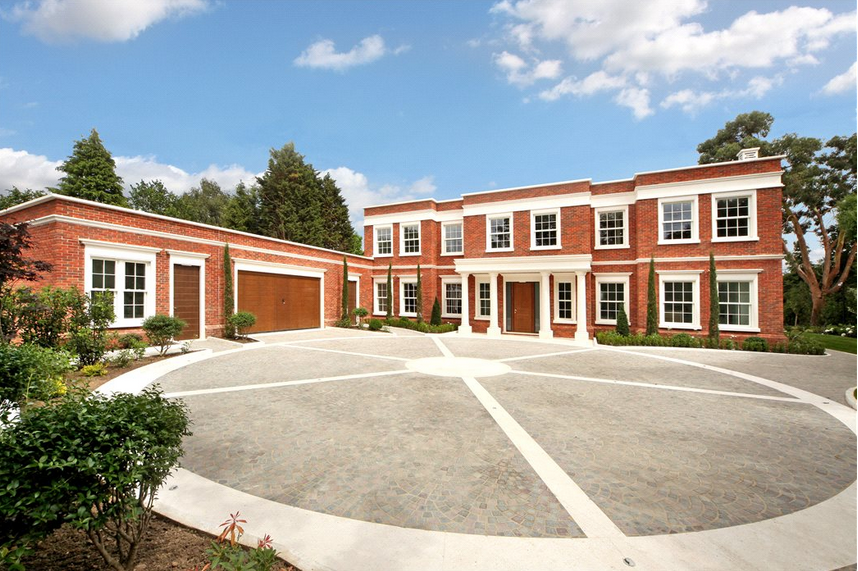 Manna - A  £6.3 Million Newly Built Brick Mansion In Surrey, England