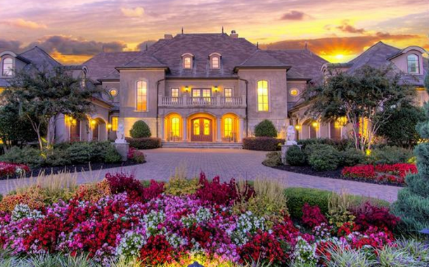 $2.975 Million French Inspired Stone & Stucco Mansion In Waxhaw, NC