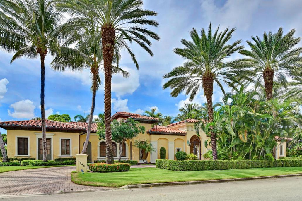 $7.45 Million Mediterranean Home In Boca Raton, FL