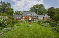 The Parson House – A $14.9 Million Historic Colonial Georgian Brick Mansion In Weston, MA