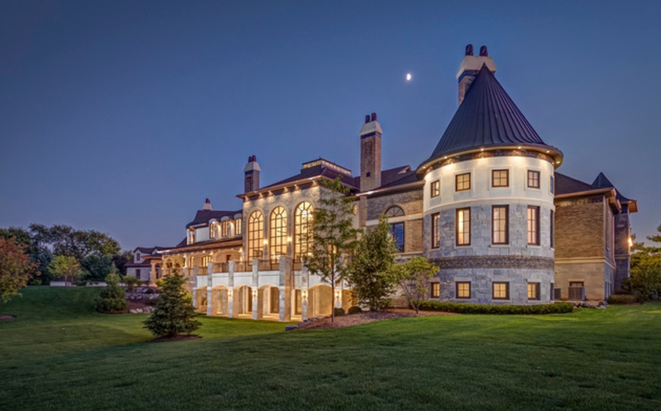 Exquisite 24 000 Square French Country Stone Mansion In