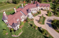 Exquisite 24,000 Square French Country Stone Mansion In South Barrington, IL Re-Listed
