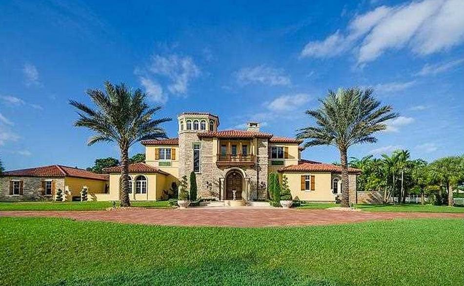 4 1 Million Mediterranean Mansion In Southwest Ranches