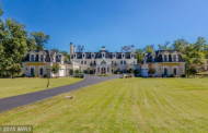 27,000 Square Foot French Chateau Mega Mansion In Clifton, VA Re-Listed