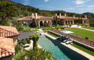 $45 Million Mediterranean Estate In Santa Barbara, CA