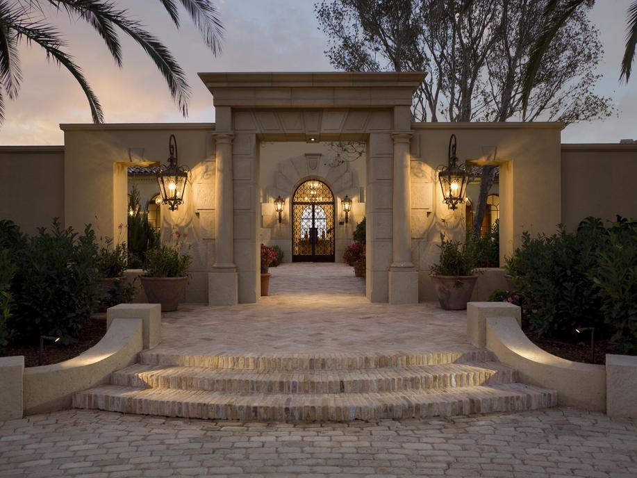 45 Million Mediterranean Estate In Santa Barbara Ca