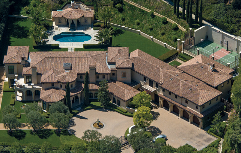 Barry Bonds' Former Beverly Hills Mansion Re-Listed For $36 Million