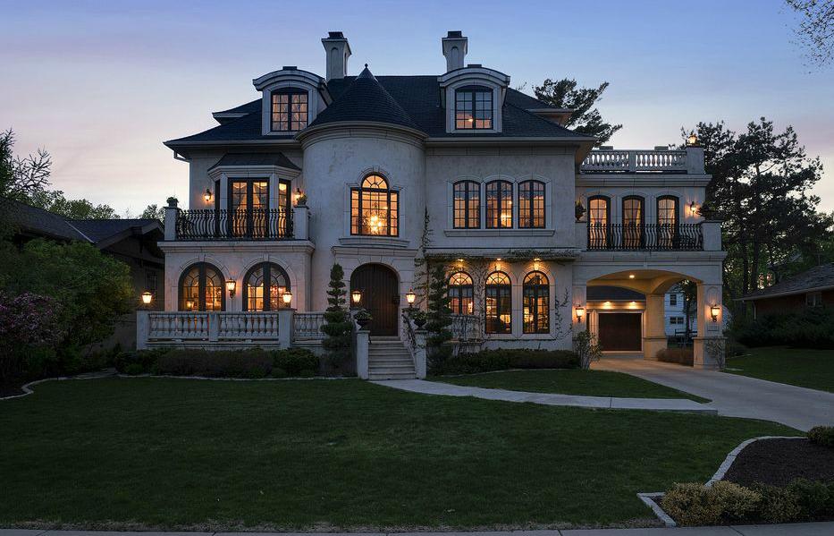 4 5 Million European Inspired Mansion In Minneapolis Mn