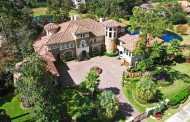 10,000 Square Foot Mediterranean Stone & Stucco Mansion In Spring, TX