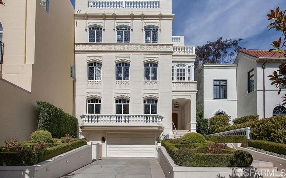 11 5 million french inspired stucco home in san francisco for Home in san francisco