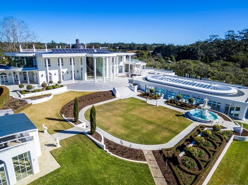 Lavish 30,000 Square Foot Mega Mansion In Queensland, AU