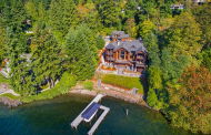 $7.38 Million Lakefront Estate In Bellevue, WA