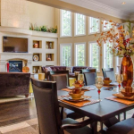 2-story Great Room & Informal Dining Room