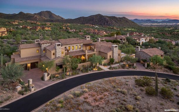 $6.395 Million Spanish Sytle Mansion In Scottsdale, AZ