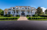 17,000 Square Foot Traditional Southern Style Mansion In Lexington, KY