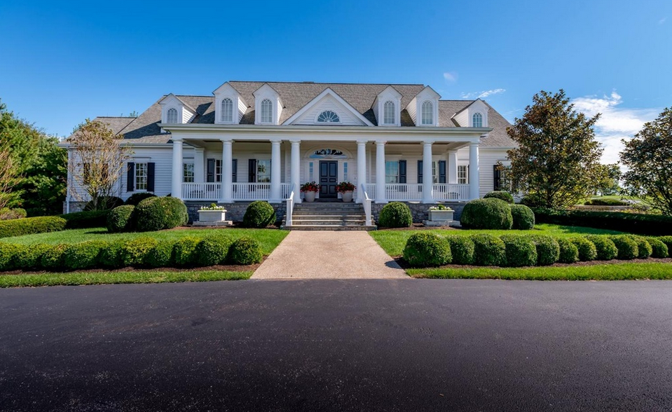 17,000 square foot traditional southern style mansion in lexington