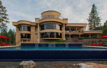 19,000 Square Foot Contemporary Mansion In Coeur D Alene, ID
