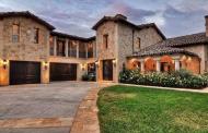 Villa de Bella Armonia – A Newly Built Italian Inspired Stone Mansion In Santa Ana, CA