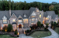 11,000 Square Foot Old World Stone & Brick Mansion In Charlotte, NC