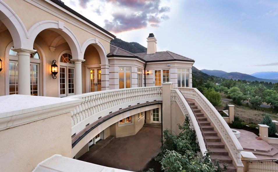 13 000 Square Foot Mediterranean Mansion In Colorado