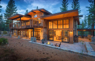 $4.195 Million Newly Built Mountaintop Contemporary Home In Truckee, CA