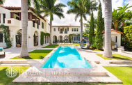 $23.9 Million Newly Built Waterfront Mediterranean Mansion In Miami Beach, FL