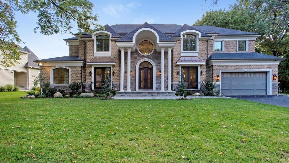 $3.68 Million Newly Built Brick & Stone Home In Great Neck, NY