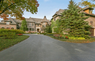 20,000 Square Foot French Provincial Lakefront Mansion In Barrington, IL Re-Listed