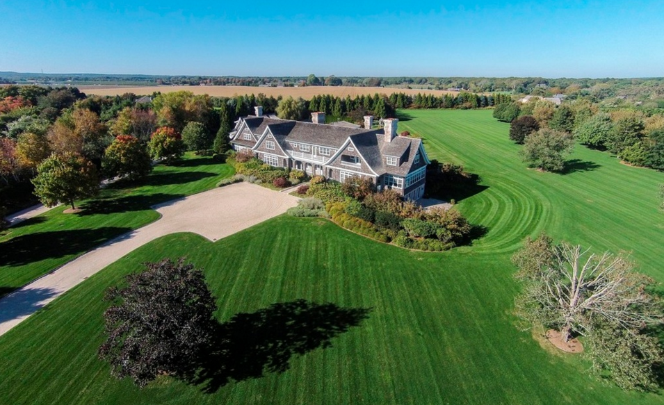 $34.8 Million Shingle Style Mansion In Sagaponack, NY