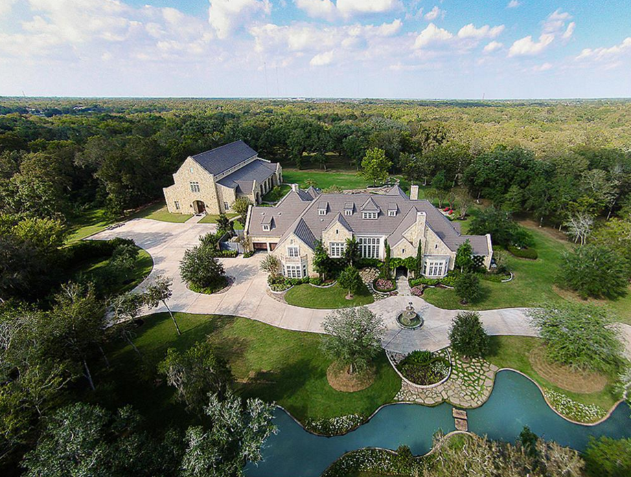 20 Acre Estate In Missouri City, TX With Sports Building