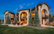 12,000 Square Foot Stone & Wood Mansion In Park City, UT