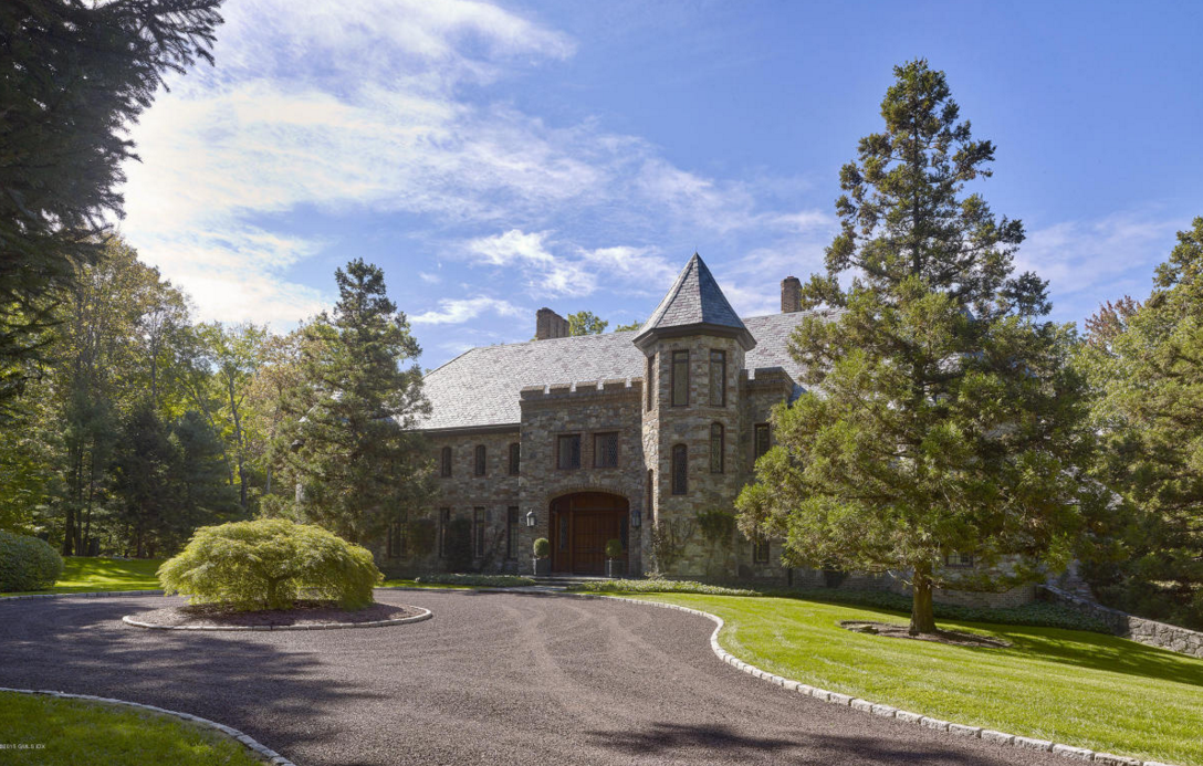 $12.9 Million English Inspired Stone Mansion In Greenwich, CT