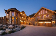 See Me Lodge – A $4.95 Million Log Home In Steamboat Springs, CO