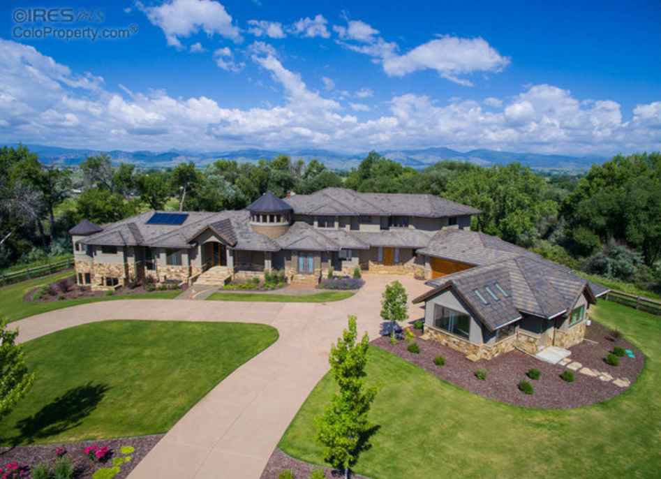 12,000 Square Foot Newly Built Contemporary Mansion In Niwot, CO