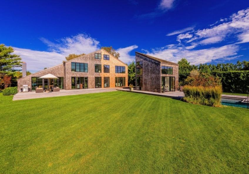 $8.4 Million Newly Built Contemporary Shingle Home In Bridgehampton, NY