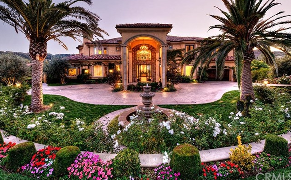 10 000 square foot mediterranean mansion in chino hills for 10000 square feet to acres