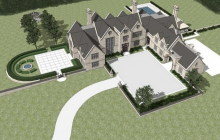 $17.95 Million Edwardian Style Limestone Mansion Under Construction In Greenwich, CT