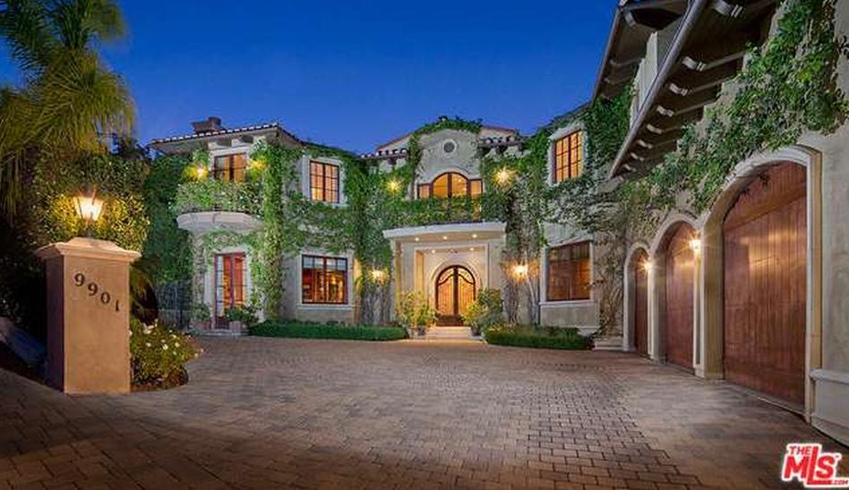 $7.695 Million Mediterranean Mansion In Beverly Hills, CA